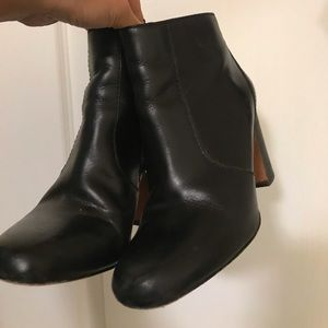 Madewell Leather Boots Size 6